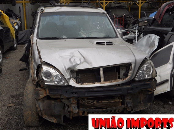Sucata Hyundai Terracan 2.5 8v Diesel Reposição De Peças