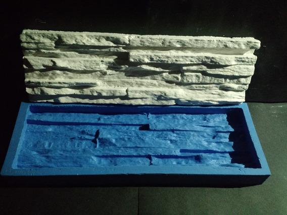 Silicone 100% Forma Placas Gesso 3d Canjiquinha 10,5x34 Cm