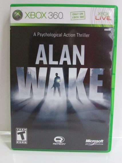 Alan Wake - Xbox 360 Original Completo Americano