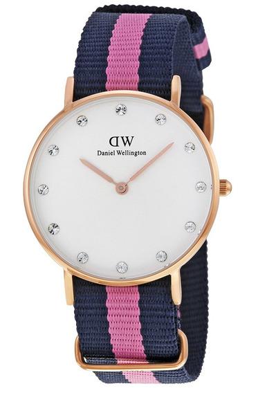 Reloj Daniel Wellington Winchester Acero Mujer 0952dw