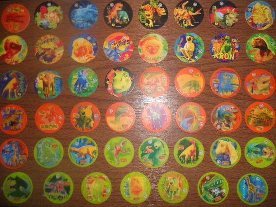 Lote De 47 Tazos De Dinosaurios ( Sabritas )