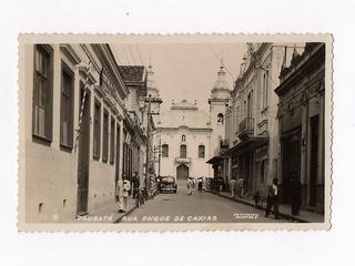 Cartao Postal Fotografico Taubate - Sp - Colombo Anos 50