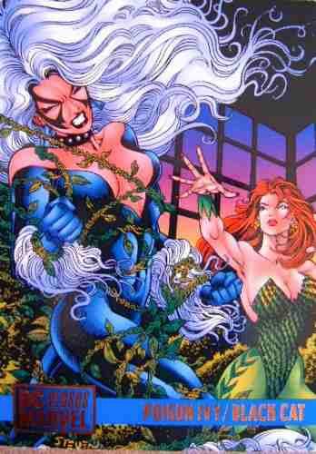 Black Cat / Poison Ivy / Dc Vs Marvel Comics Cards 88