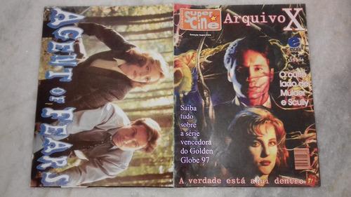 Coleção Super Cine Nº 7 - Arquivo X -escala - Frete R$ 8,50