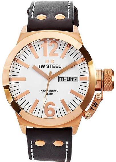 Tw Steel Ceo Canteen Oro Rosado, Envio Gratis, Ce1017