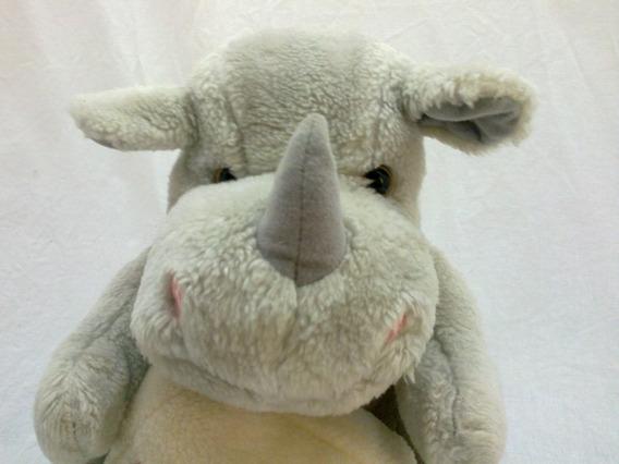 Bichos De Pelúcia Parmalat Rinoceronte Promocional P/coleção
