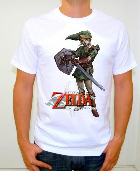 Playera Gamer Zelda Tp Sublimado Alta Calidad Legend Of Z M2