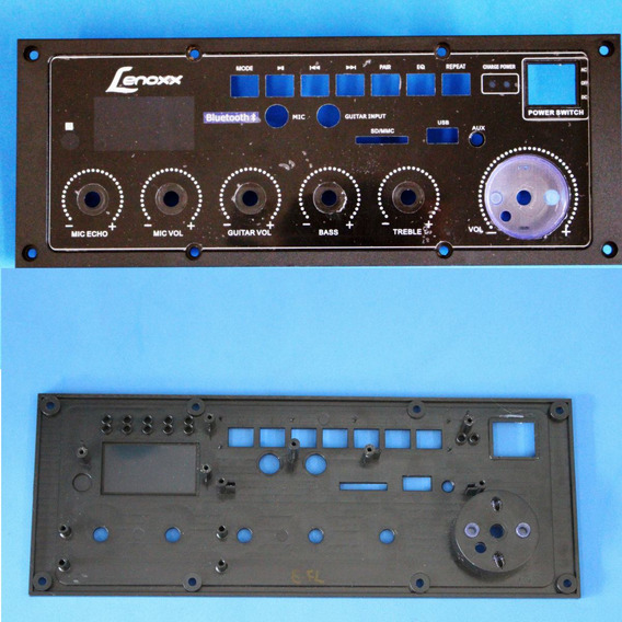 Painel Para Caixa Amplificada Lenoxx Modelo Ca-318