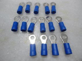 15 Terminais Pre Isolado Tipo Anel 1,5 A 2,5mm