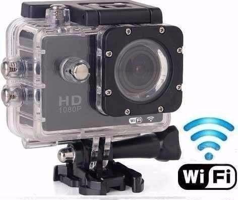 Mini Camera Para Esporte Pro Full Hd 1080 Aprova D'agua Wifi