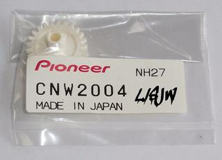 Engranaje Piñón Pioneer Cnw2004 Mecanismo Motorizado Dvd