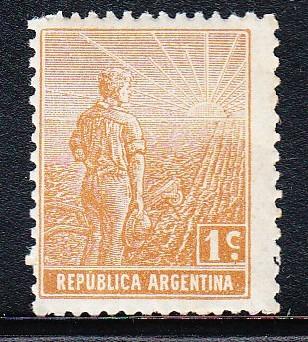 Argentina 1911 Sello 1 Centavo Mello Nº 193 Mint
