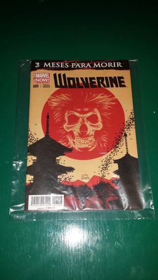 Revista Comics Marvel Now! Wolverine 009 Portada Variante