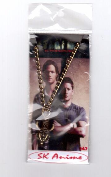 Colar Dean Winchester Supernatural Sobrenatural Frete Grátis
