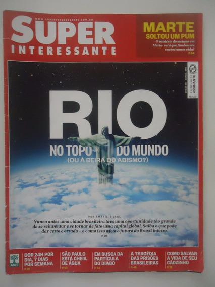 Superinteressante #344 Ano 2015 Rio No Topo Do Mundo Ou