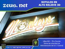 Rotulos 3d,luminosos,señaletica,gigantografias,vinil,sticker