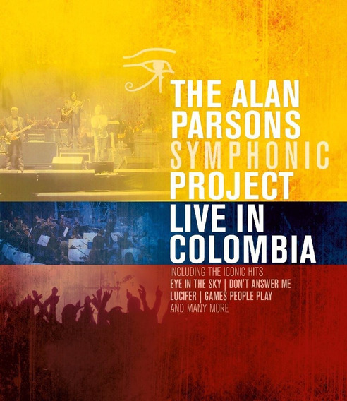 Alan Parsons Symphonic Project Live In Colombia - Blu-ray