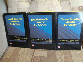 Serie Mcgraw-hill,liderazgo En Acción (superacion)impecables