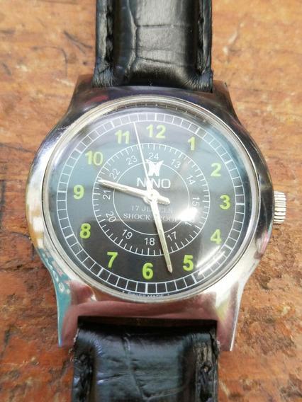 Reloj Nino De Cuerda 17 Joyas Shock Proof