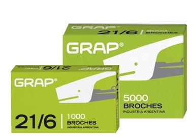 Broche Grap 21/6 Caja X 5000