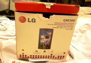 Celular Lg Gm360 (só Coleção, Retirada Peças)