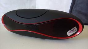 Caixa De Som Bluetooth 4w Rms, Mp3, Mp4, Usb E Sd Card Branc