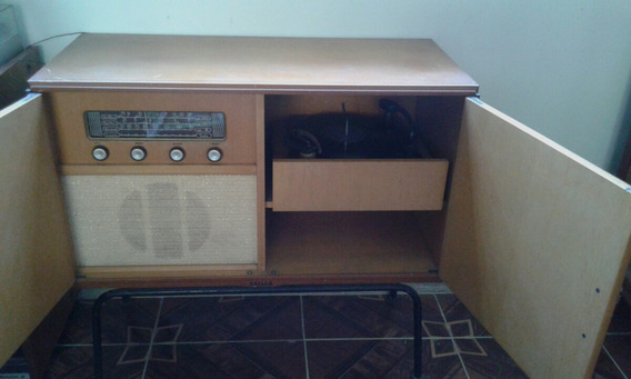 Rádio Vitrola Com Movel Da Philco