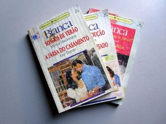 3 Livros Bianca - 6 Romances