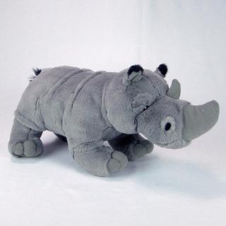 Rinoceronte De Pelúcia 40cm - Lindo!!!