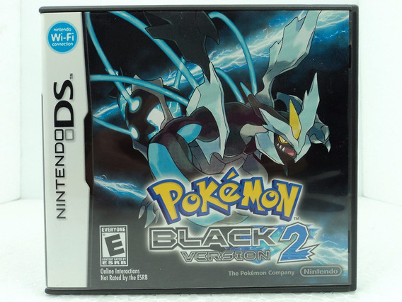 Pokemon Black 2 Version - Ds / Dsi / 3ds - Ótimo Estado!!!
