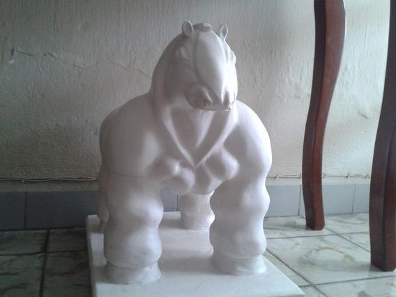 Escultura Tipo Caballo De Botero