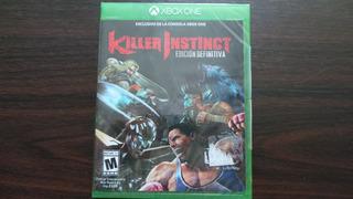 Killer Instinct Edicion Definitiva Xbox One Nuevo Sellado