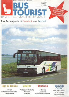 Onibus - Revista Alemã - Bus Tourist International