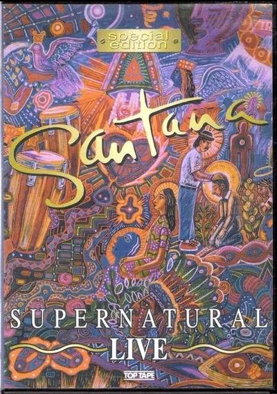 Santana Super Natural Live Dvd Original Novo Lacrado