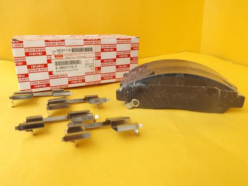 Pastillas De Freno Delanteras Chevrolet Luv Dmax 9805116