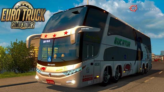 Simulador Brasileiro De Ônibus Patch Bus 2017 - Euro Truck 2