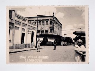 Cartao Postal Fotografico R Minas Gerais Catanduva Anos 50