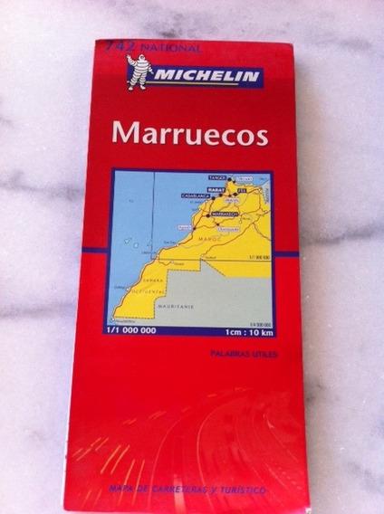 Mapa Michelin Marruecos