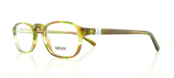 Dkny Eyeglasses Dy 4632 3594 Green Tortoise 48mm Buen Fin