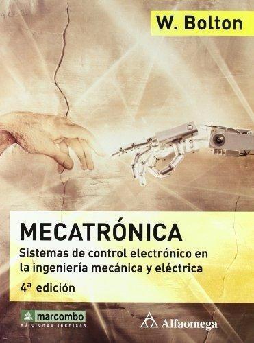 Mecatrónica 4ª Edición - Livro Em Espanhol