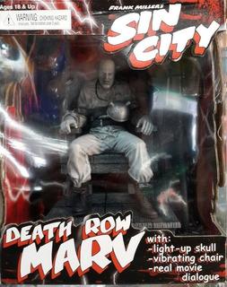 Figura Sin City Death Row Marv Con Sonido Y Vibración Única!