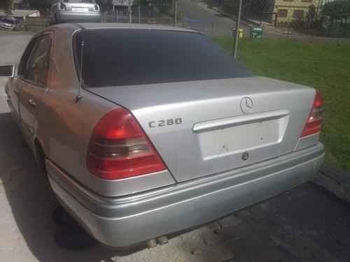 Imagem 1 de 6 de Mercedes C280 Sucata Peças- Motor Câmbio Diferencial
