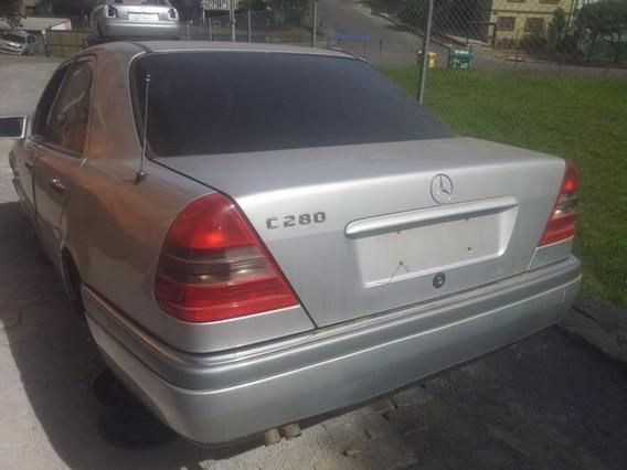 Mercedes C280 Sucata Peças- Motor Câmbio Diferencial