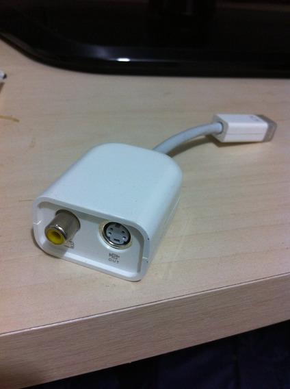 Adaptador Original Apple Mini-dvi Para S-video/composto