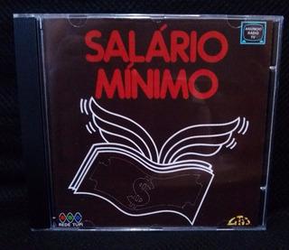 Cd Novela Salário Mínimo - Trilha Sonora Tupi