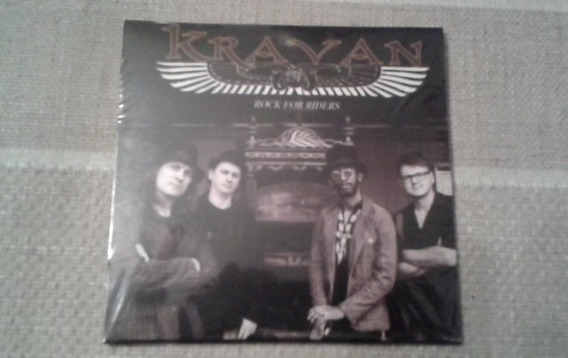 Disco (cd) Banda Kravan - Albúm: Rock For Riders Ano: 2016