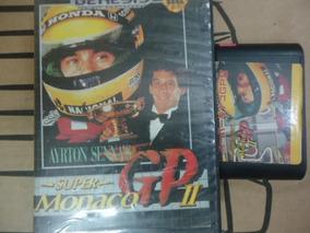 Cartucho Com O Jogo Airton Sennas Genesis / Megadriver