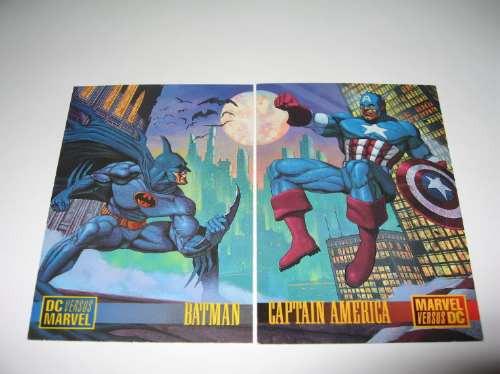 Marvel Vs Dc Cards Tarjetas (set) Colección Completa