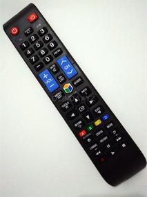 Controle Remoto Samsung Smart Tv Lcd Função Futebol + Pilhas