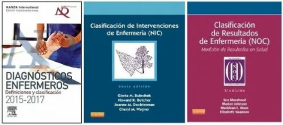 Nanda -nic-noc Tres Libros Paquete
